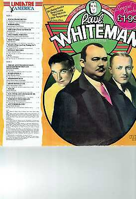 Paul Whiteman & His Orchestra Lp Album The King Of Jazz