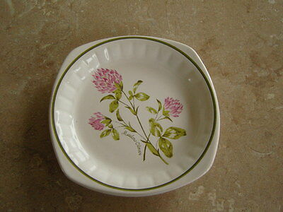 """Royal Worcester """"Palissy"""" Meadow Clover Pin tray/Pin dish/ Trinket dish"""