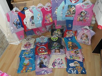 Wholesale Joblot 80 X Pairs Of Boys And Girls Pyjama Pjs Sets - Age 18-24 Months