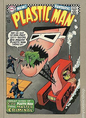 Plastic Man (1966 1st Series DC) #4 VG+ 4.5 LOW GRADE