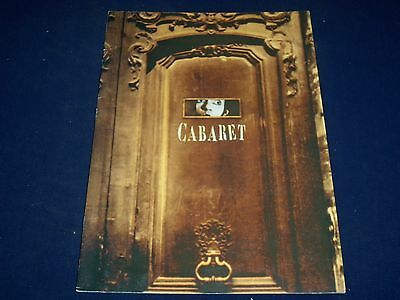 1999 Cabaret Official Program - 16 Pages - Great Photos - J 423