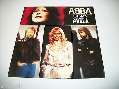 "Abba- Head Over Heels Vinyl 7"" 45Rpm Ps"