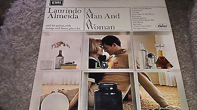 Laurindo Almeida A Man And A Woman Vinyl LP Capitol ‎T-2701 US 1967 19/50
