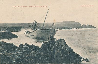 Wigtownshire Isle Of Whithorn Steam Coaster Shipwreck Pu 1903