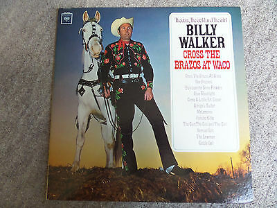 LP The Gun, The Gold and The Girl, BILLY WALKER Cross The Brazos at Waco CL2331