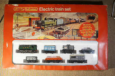 Hornby r.541 Freight Train Set Vintage