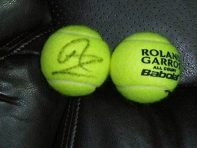 Rafael Nadal  Autographed French Open Roland Garros Tennis Ball-From 2017-Guaran