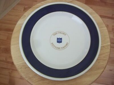 Vtg Sterling China Hotel Restaurant ware Plate THE COLONY KENNEBUNKPORT Maine