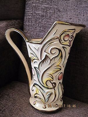"Wade ""Gothic"" Pattern Lustre Jug Super Condition"