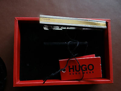 BNWT Hugo Boss Tiemoon Tie Bar / Clip  (50307929)