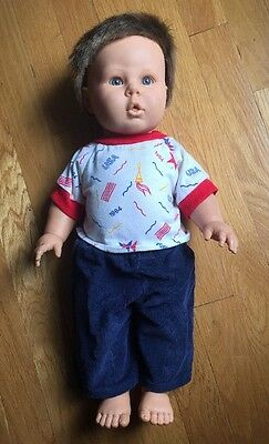 Berjusa Timmy Anatomically Correct Toddler Baby Boy Doll 19""