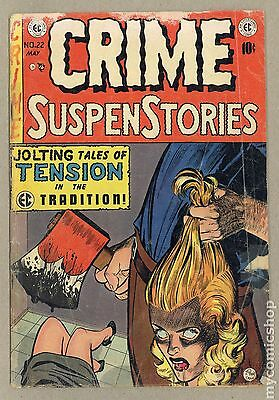 Crime Suspenstories (1950-55 E.C. Comics) #22 GD- 1.8