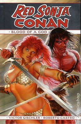 Red Sonja/Conan Blood of a God HC (2016 Dynamite) #1-1ST NM