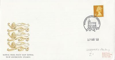 (02449) GB FDC 35p Enschede Definitive Windsor 17 August 1993
