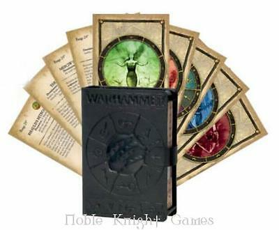 GW Warhammer Fantasy Cataclysm and Cantrip Spell Cards Box NM