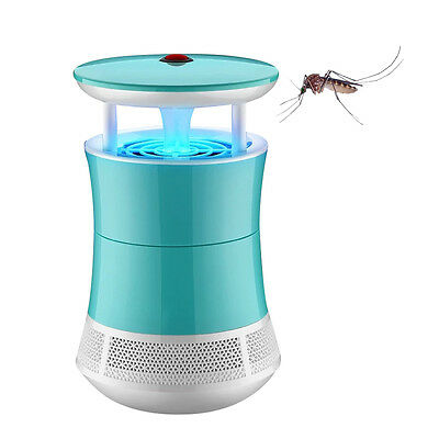 New Mosquito Killer Lamp LED UV Light Insect Bug Trap Indoor Pest Catcher Zapper