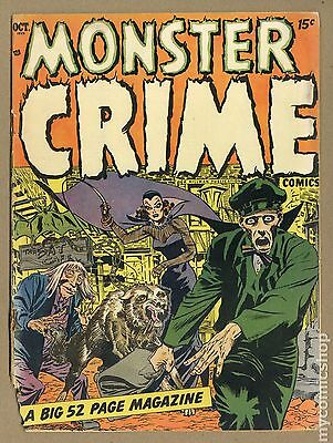 Monster Crime Comics (1952) #1 PR 0.5
