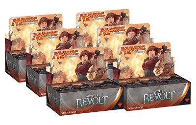 Magic the Gathering Aether Revolt Booster Box x6 Case | Sealed | Cheap!