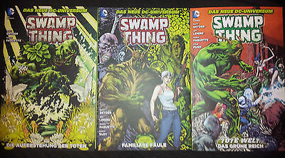 SWAMP THING (deutsch) # 1+2+3+4+5+6+7 - DAS NEUE DC-UNIVERSUM - PANINI 2012-2015