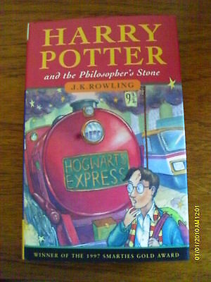 Harry Potter & The Philosopher's Stone - First Edition - 1St / 3Rd - Hardback Hb