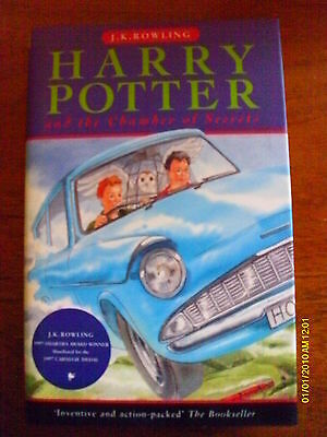 Harry Potter & The Chamber Of Secrets - First Edition - 1St / 2Nd - Hardback Hb