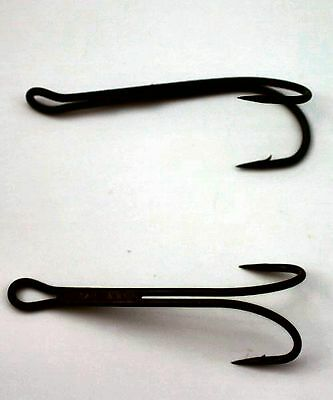 Salmon Low Water Double Hooks For Fly Tying - Size 10