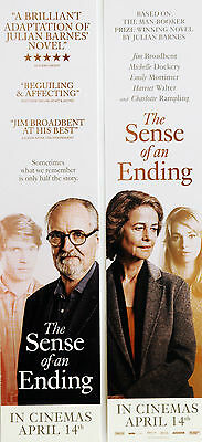 The Sense Of An Ending Bookmarks Jim Broadbent Charlotte Rampling Billy Howle .