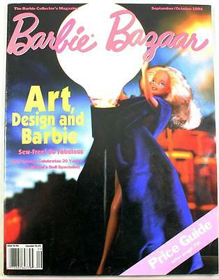 Barbie Bazaar Magazine September/October 1994 Art & Design Price Guide