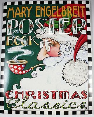 """MARY ENGELBREIT Poster Book Christmas Classics 12 Posters 11"""" x 14"""" 2002"""