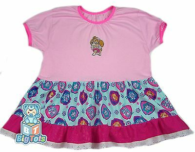 "BIG TOTS adult SKYE Paw Patrol baby girl dress 44+"" chest"