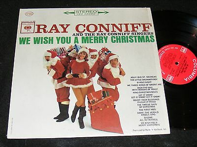 ray conniff christmas lp classic cute 60s gal santa cover stereo original columb - Ray Conniff Christmas