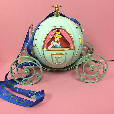 Disney Parks CINDERELLA Carriage Coach Souvenir Popcorn Bucket