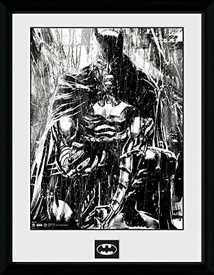 GB eye Ltd 1-Piece 16 x 12-inch Batman Comic Rain Framed Photograph