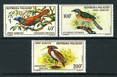 #C72-72 BIRDS SET - Airmail - mint never hinged and NICE  cv$14.25