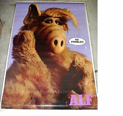 Vintage ALF No Problem poster (22 x 34 inches) original & authentic from the 80s