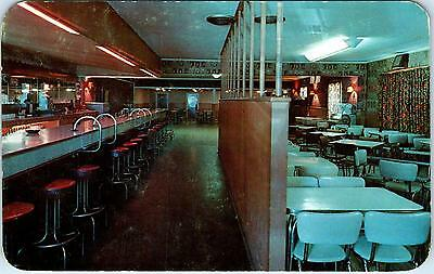 COEUR D'aLENE, ID Idaho BOOTS & SADDLE BAR, Restaurant  c1950s Roadside Postcard