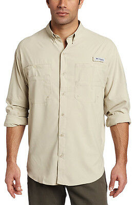 Columbia Men's Tamiami II Long Sleeve Shirt - Fossil