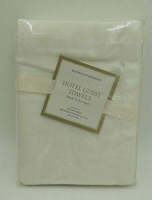 12 Restoration Hardware Hotel Guest Hand Towels - New Old Stock - From Portugal