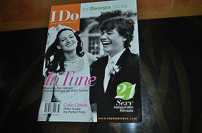 RARE Zac Hanson Featured in I Do For Brides Magazine!