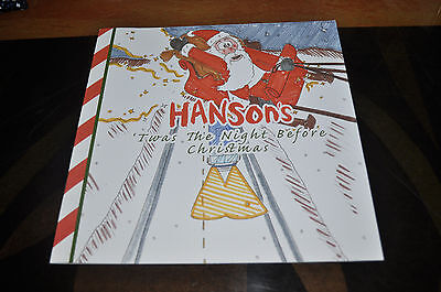 RARE Hanson 'Twas The Night Before Christmas Book!