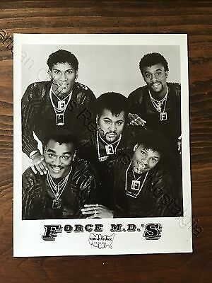FORCE M.D.'S - circa 1985 EARLY management photo (Norby Walters Assoc.) GREAT!