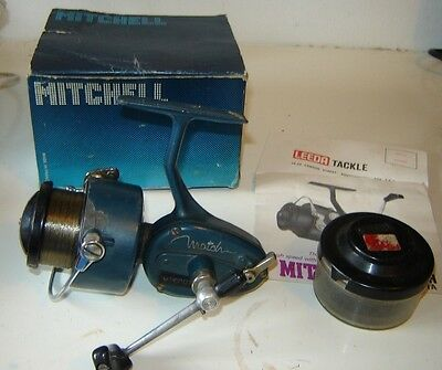 rare Boxed blue  Mitchel 440A Match with instructions good working order