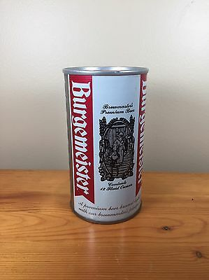 Vintage Beer Can Burgemeister Peter Hand Brewing Chicago Illinois Pull Tab