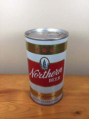Vintage Beer Can Northern Cold Spring Brewing Minnesota Steel Superior Pull Tab