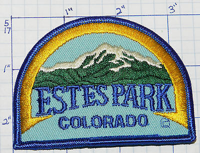 Colorado, Estes Park Near Rocky Mountain National Park Souvenir Travel Patch