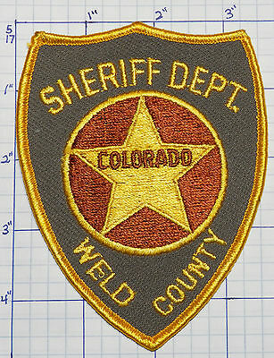 Colorado, Weld County Sheriff Dept Patch