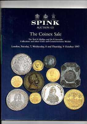 Spink Auction Catalogue Oct 97 Neils Phillips & Dr V Azevedo  Collections Etc