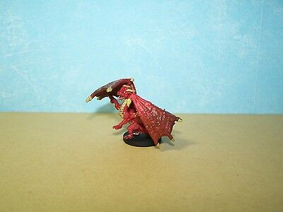 Red Dragon Wyrmling - Monster Menagerie 2 #39 D&D Rare Miniature