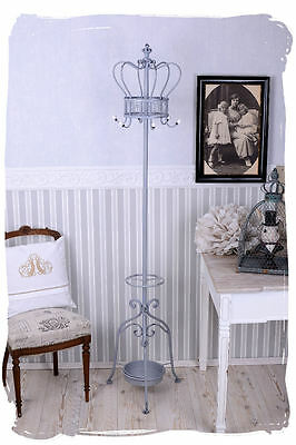 Clothes Stand Shabby Chic Valet Stand Coat Stand Crown