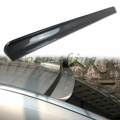 PAINTED Volkswagen VW Jetta MK4 Window Visor Roof Spoiler PUF 1999-2004
